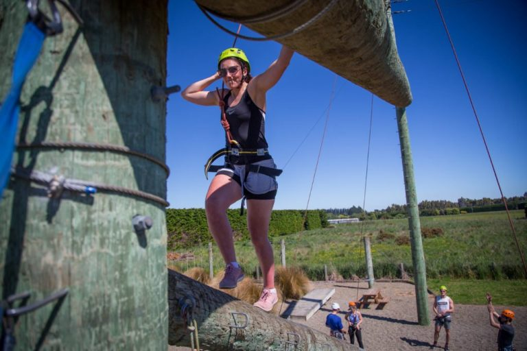 Adventure Southland, Challenge Ropes Course, high ropes, low ropes, team building, fun, things to do in southland