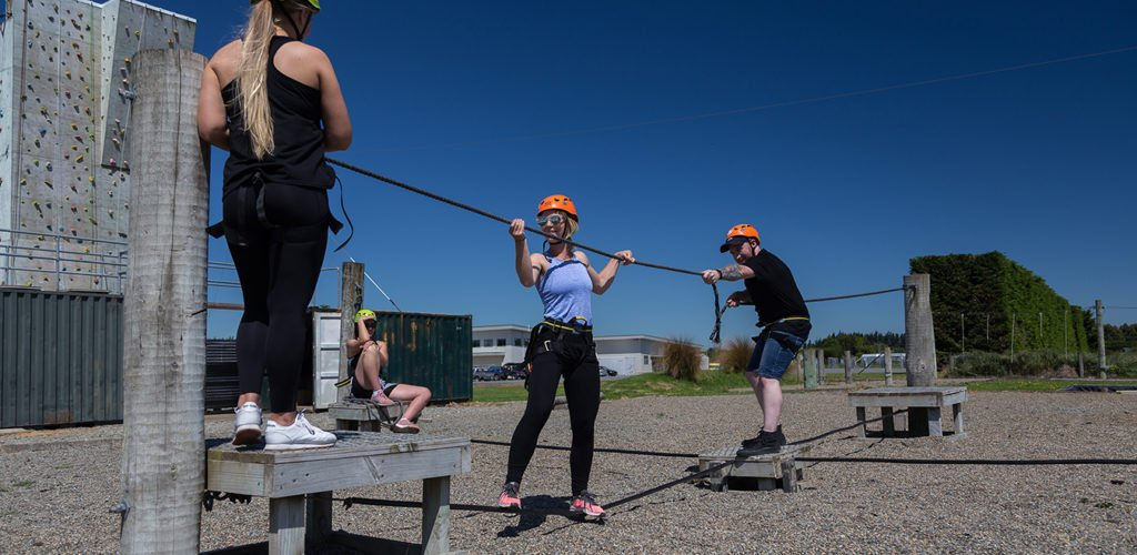 Team Building, Adventure Southland Ltd, Invercargill, Southland, Corporate Team Building, Low Ropes, High Ropes, Challenge Ropes Course, Adventure Based Learning,
