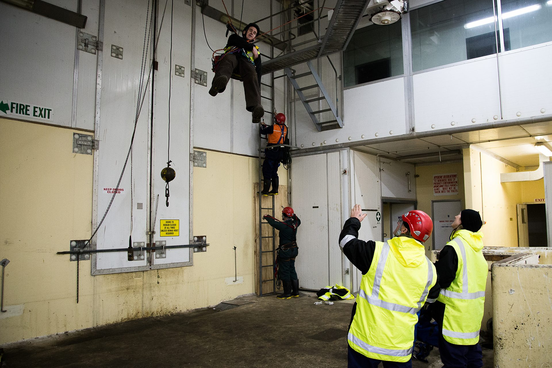 height safety, rope rescue, industrial
