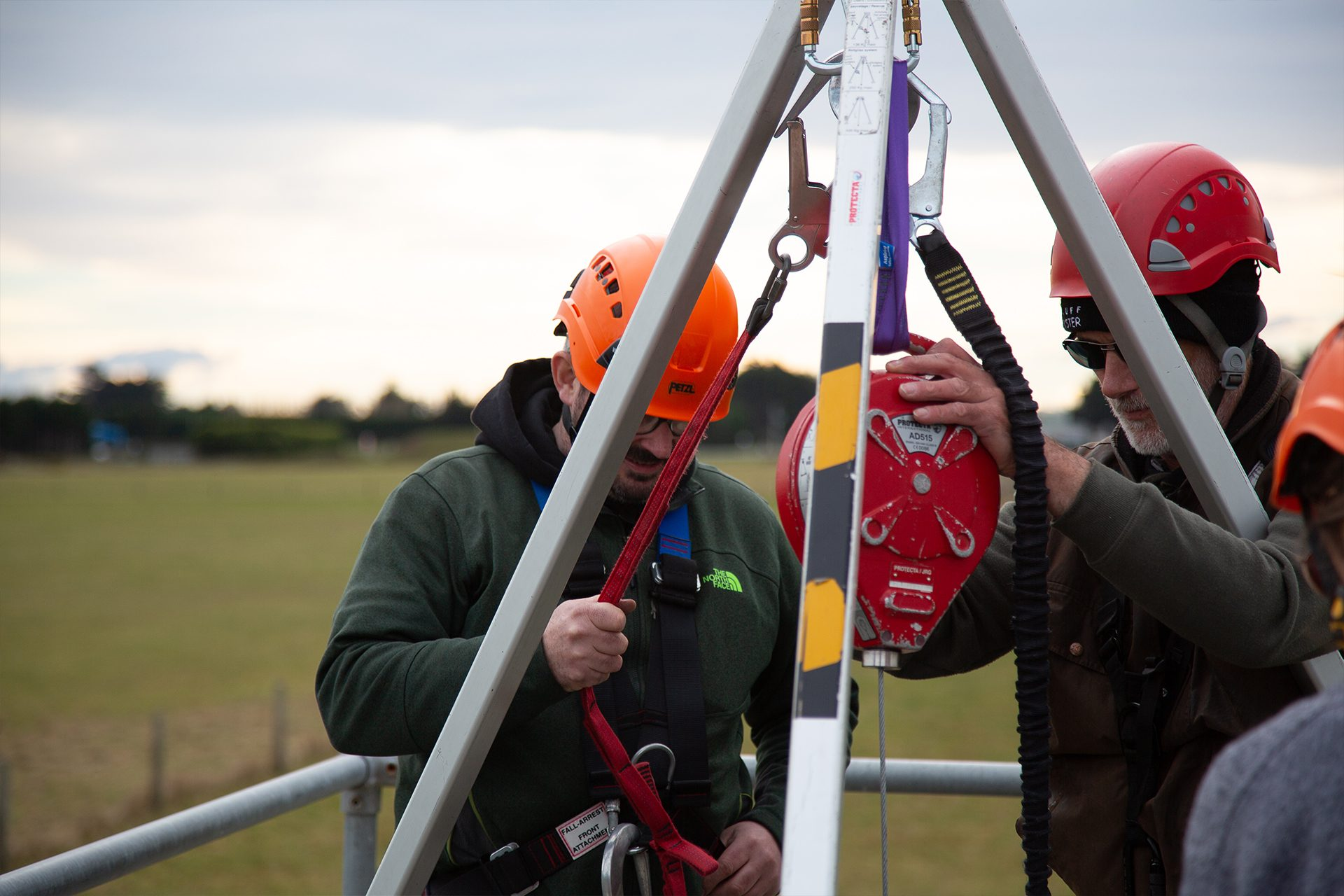rope rescue, industrial rope access, height safety, safety training