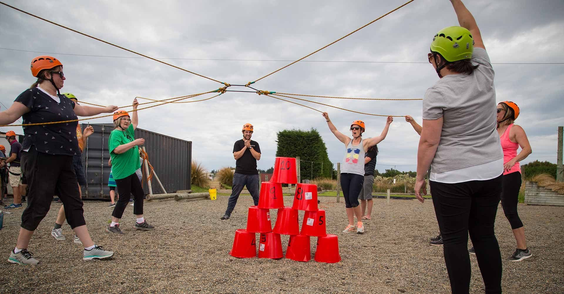 team building, low ropes, adventure based learning, corporate team building, workplace culture, working together, improve communication, work function, work do