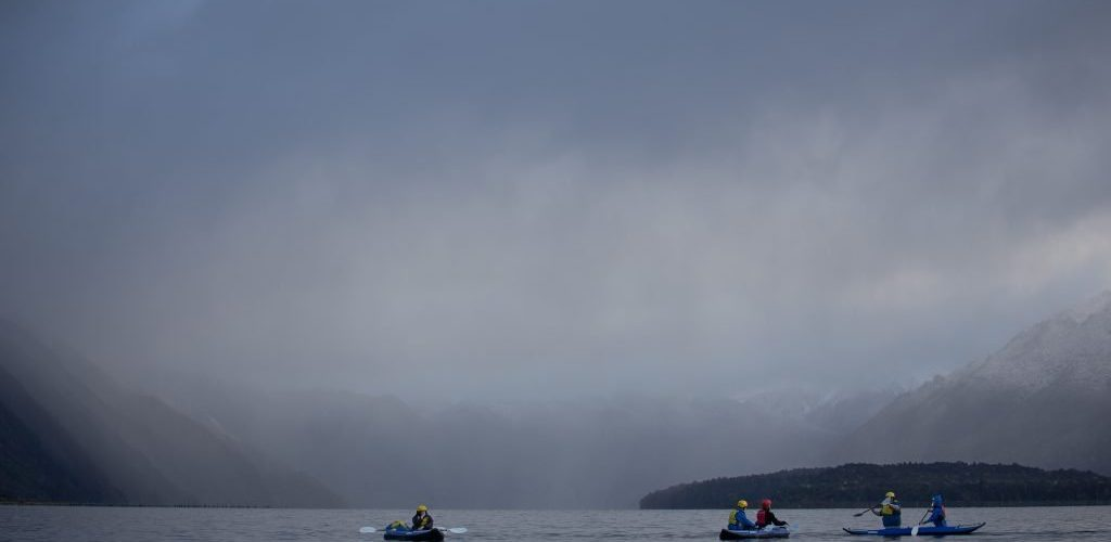 sea kayaks, adventure southland ltd, lake