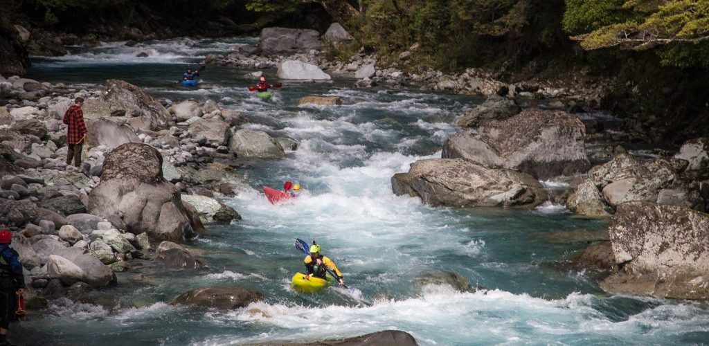 kayaking, river, adventure southland ltd, white water