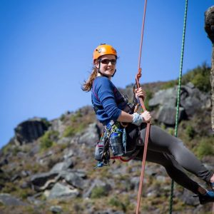 adventure southland, outdoor instructor, abseiling, rappelling